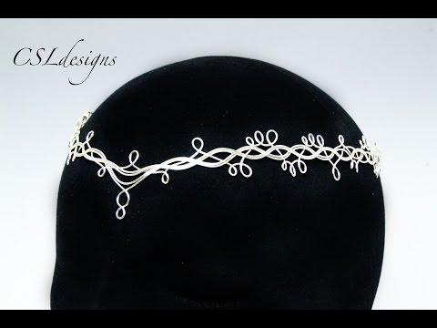 Wire wrap crown diy