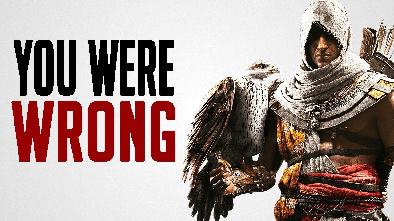 We Were WRONG About Assassin's Creed: Origins