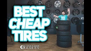 """The 5 Best """"cheap"""" Tires For Your Truck!"""