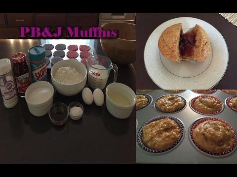 Peanut Butter & Jelly Muffin Recipe