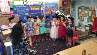 Hazel E Basil Waltrip last day of preschool song 1