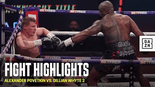 HIGHLIGHTS | Alexander Povetkin vs. Dillian Whyte 2