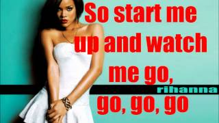 Rihanna - Shut Up And Drive Lyrics