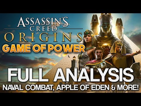 Assassin's Creed Origins | Game of Power TRAILER ANALYSIS - Apple of Eden, Naval Combat & MORE!