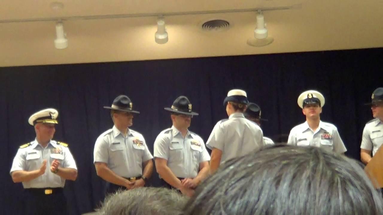 Coast Guard Depot Program Boot Camp Graduation 2016 Youtube