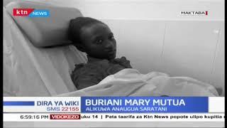 Buriani Mary Mutua alizoa alama 415 kwa KCPE mwaka jana
