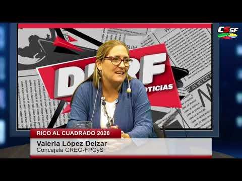 López Delzar: El Presupuesto 2020 da vuelta el mapa