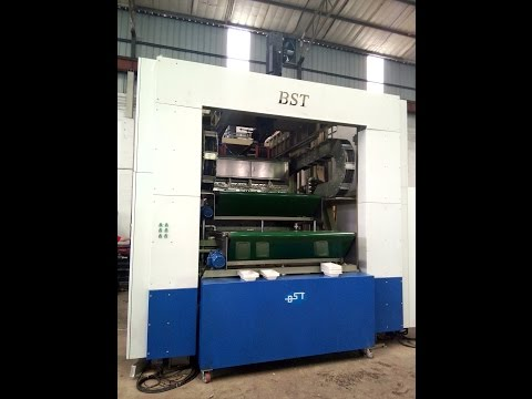 Moulded pulp tableware thermoforming making machine-- BST