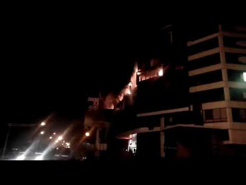 Fire at Aakash Institue Law college square ,Nagpur