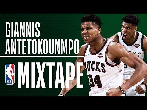 Giannis Antetokounmpo's OFFICIAL 2018 NBA Season Mixtape!