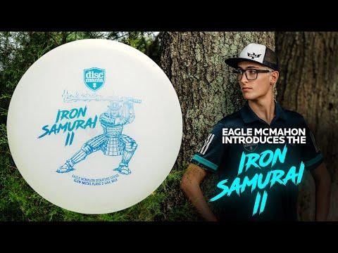 Eagle McMahon introduces the Iron Samurai 2 (Glow Metal Flake C-line MD3)