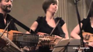 Nyckelharpa Orchestra ENCORE L'Elan by Pierrick Hardy - Bertinoro 10-8 2013