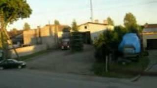 21.06.2010 - Wyjazd OSP Lotyń do pożaru obory. GBA i GLAM alarmowo