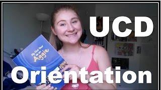 WHAT UC DAVIS ORIENTATION IS LIKE