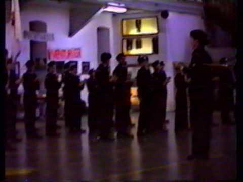 ceremonial corps de cadets 2671  1992 partie 2