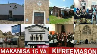 MAKANISA 15 YA KIFREEMASON HAYA APA/FREEMASONIC HALLS ZOTE HIZI APA/MAJENGO YA IBADA 15 YA FREEMASON