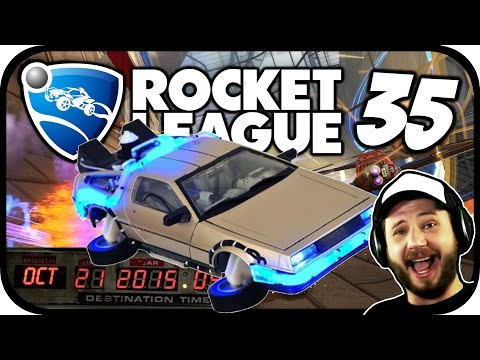 Rocket League #35 - DELOREAN-DAY [Gameplay]*[Let's Play]*[Deutsch]