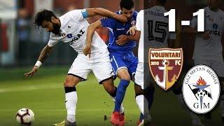 Telekom Sport:  FC Voluntari - Gaz Metan Mediaş 1-1 (Liga 1, editia 2018-2019, et 2)