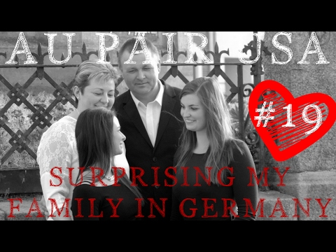 AuPair Vlog#19 - Überraschung - I Surprise My Family In Germany - AIFS