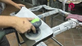 Подготовка деталей кузова к покраске