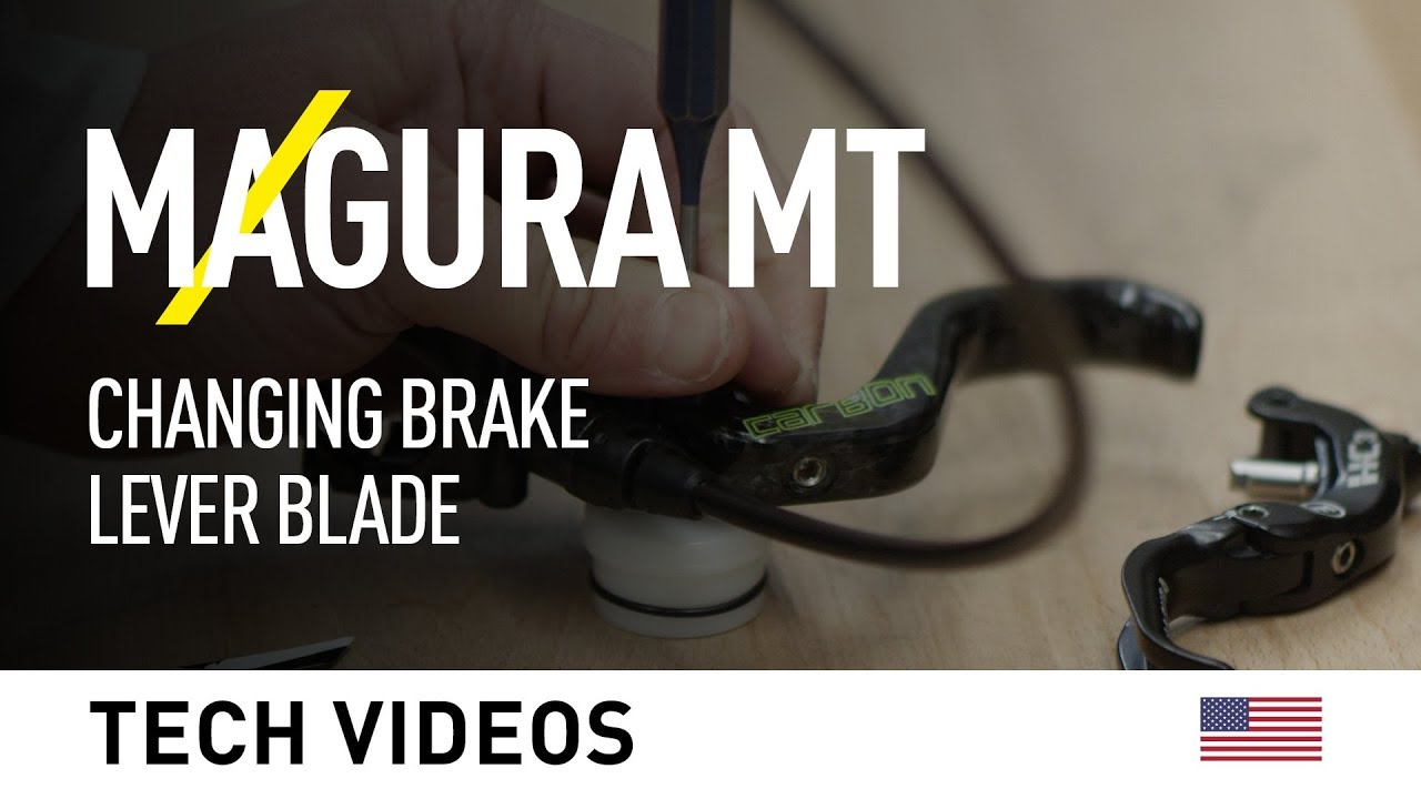 Magura Mt Changing Brake Lever Blades Youtube
