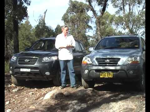 Hyundai Santa Fe – Kia Sorento SHOOTOUT – Rob Fraser Reviews