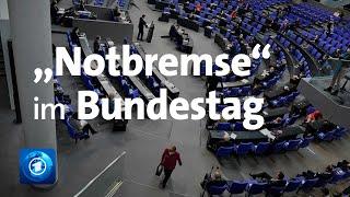 Bundestag: Intensive Debatte über