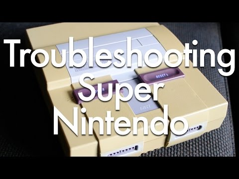 Troubleshooting Super Nintendo Problems