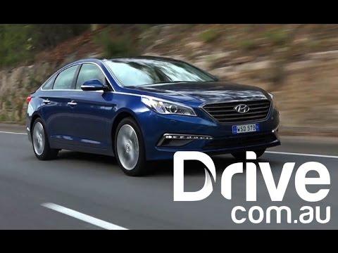 Hyundai Sonata Turbo First Australian Drive | Drive.com.au
