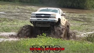 SIDE CHICK DOMINATES LA MUD PIT!!