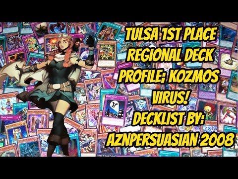 Tulsa 1st Place Regional Deck Profile; Kozmos Virus!