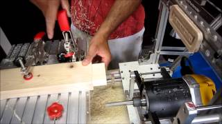 Making Large Mortise And Tenon By Hybrid Pantorouter