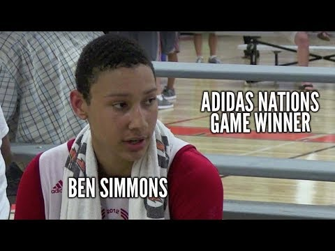 Ben Simmons Raised his NBA DRAFT STOCK VS Team USA at Adidas Nations with this GAME WINNING DUNK