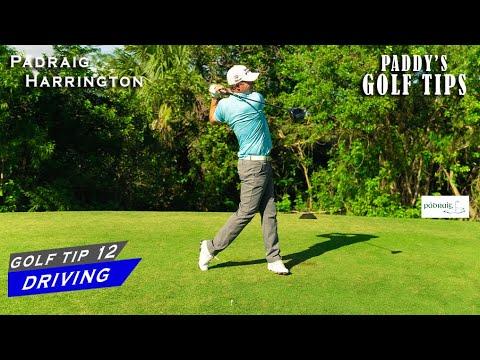 THE SECRET TO EFFECTIVE DRIVING | Paddy's Golf Tip #12 | Padraig Harrington