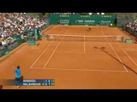 Nalbandian vs Robredo Highlights