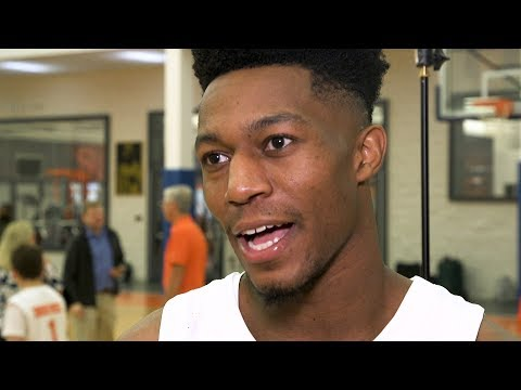 Syracuse basketball players discuss life off the court (video)