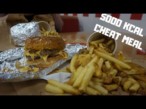 EPIC 5000KCAL BODYBUILDING CHEAT MEAL