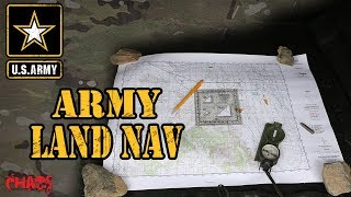 How to do land nav in the Army