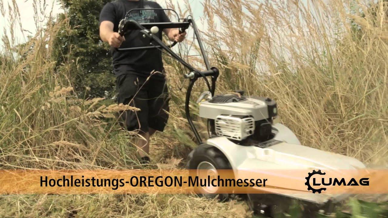lumag mulchmäher hgm 85055 - youtube