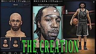 NBA Live 16 Companion App - Facescan and Brutalsim Character Creation