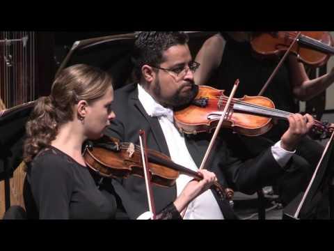 Concierto Extraordinario de la OSSLA y William Harvey, con Romance Sinfónico . (16 Marzo 2017)