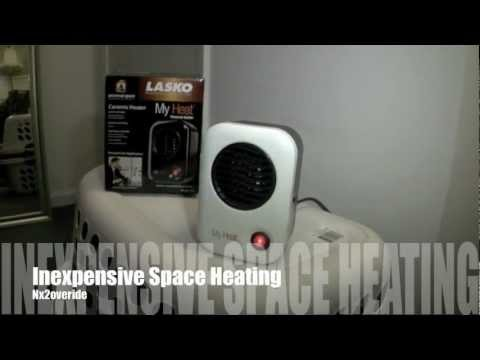 Inexpencive Space Heater (Low Wattage, 200 Watts)