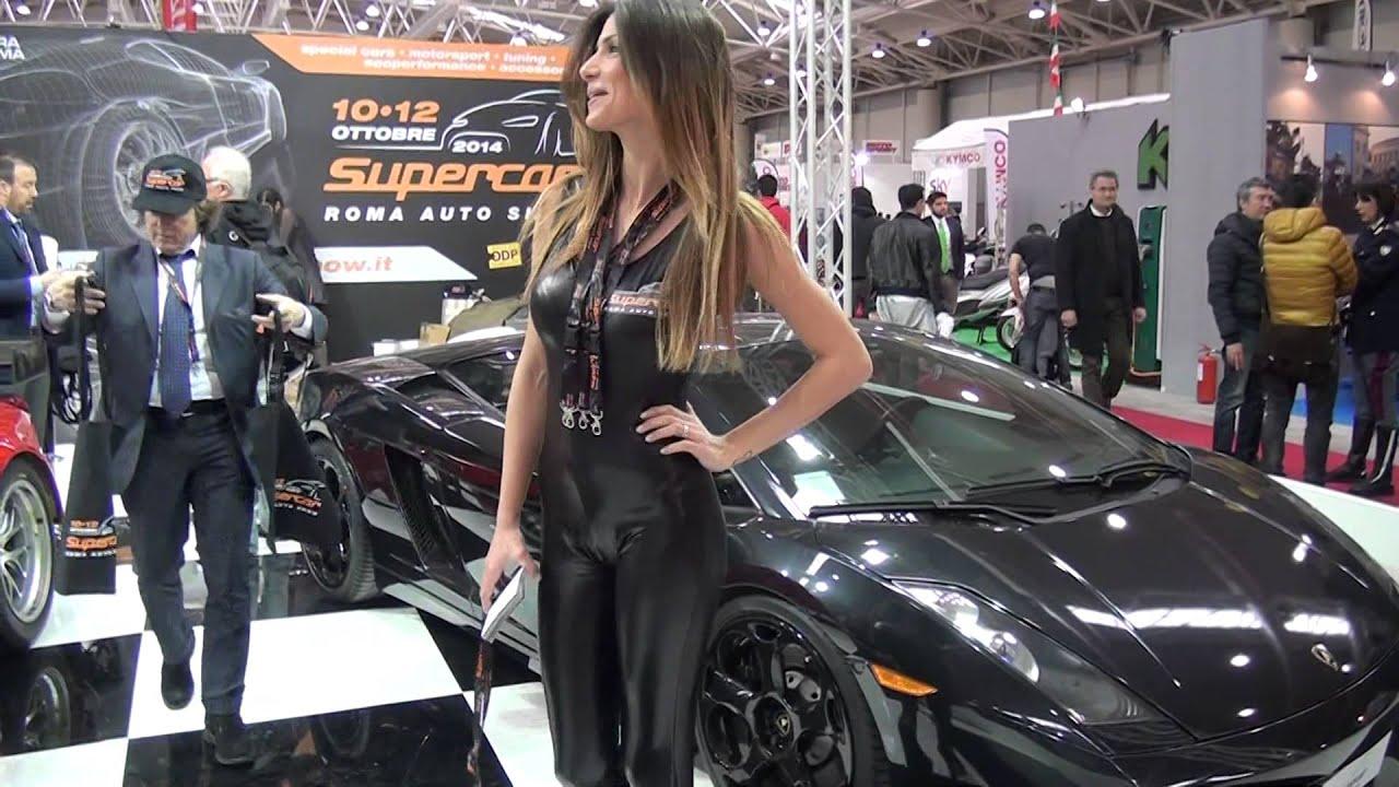 Fisichella A Supercar Roma Auto Show Motodays Youtube