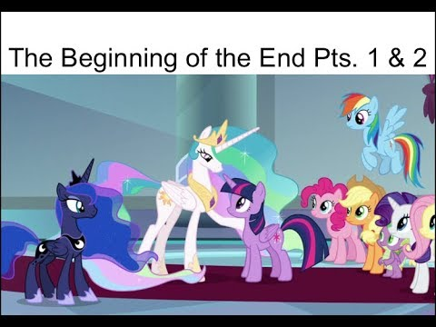 """Blind Reaction: MLP FIM Season 9 Episodes 1 & 2 """"The Beginning Of The End"""""""