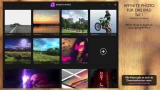 Affinity Photo für das iPad - Teil 1 - Selektionen und Ebenen