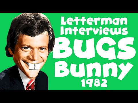 David Letterman Interviews Mel Blanc in 1982 - Animation Inspiration