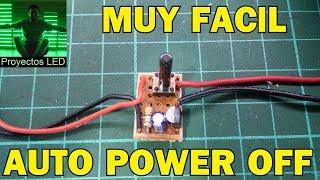 Auto power off, muy facil