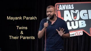 Twins and Their Parents | Stand Up Comedy by Mayank Parakh
