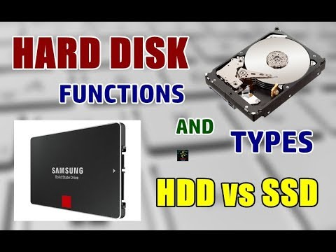 What are Hard Disks | HDD vs SSD | Functions and Types Explained