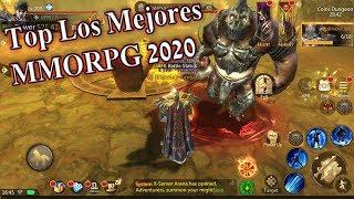 Top Los Mejores MMORPG para android 2020